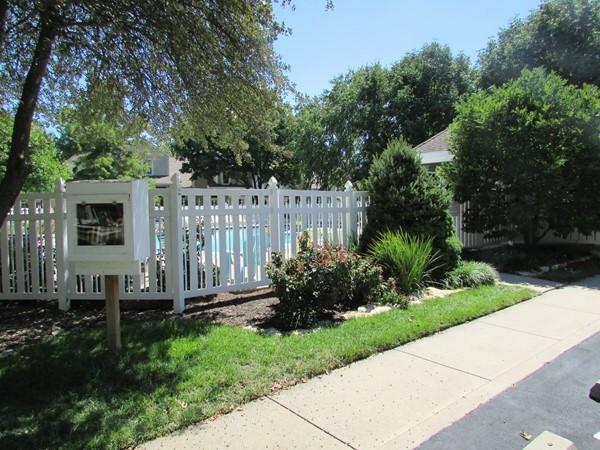 Entrance to Stoneybrook Subdivision pool and cabana