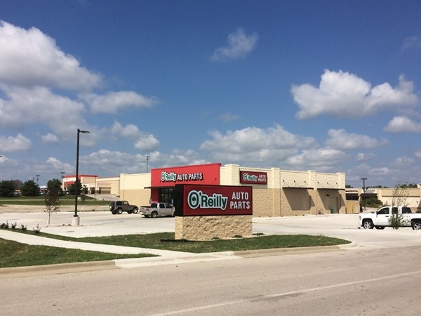 The new O'Reilly Auto Parts now open in Louisburg