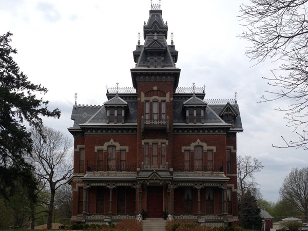 Vaile Mansion- Independence, located off Liberty Street between 2nd Street and Jones Street