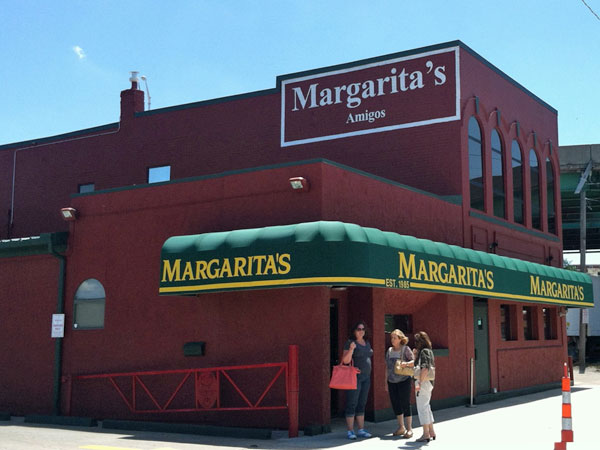 Margaritas restaurant in downtown KCMO.