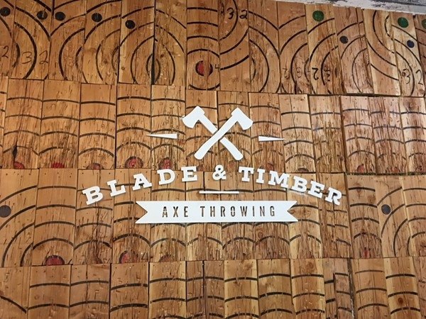 Fun times at Blade & Timber, West Bottoms KC