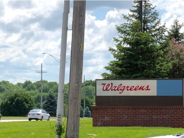 Walgreens is just a few minutes away from Yorkshire
