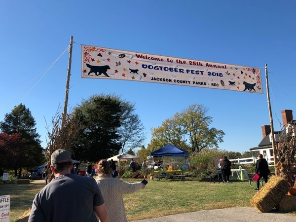 Dogtoberfest includes games, booths, and exhibitions for our canine friends