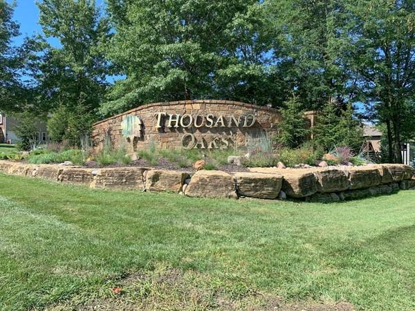 Beautiful entrance to Thousand Oaks