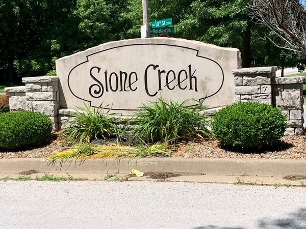 Front entrance of Stone Creek