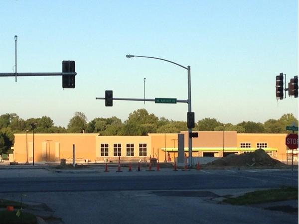 New buildings rising up at Antioch Crossing