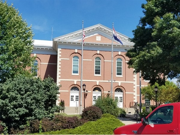 Platte County Courthouse located in Platte City