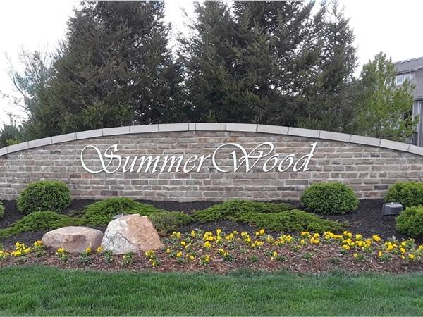 Summer Wood Community in Overland Park