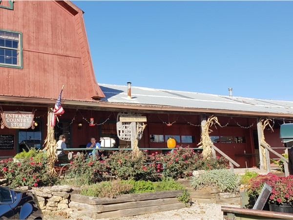 The Farmers House. In the fall you can get yummy apple turnovers