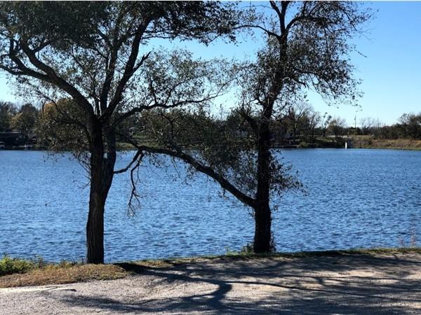 The scenic Gardner Lake