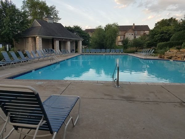Salt water pool for cooling in the summer heat! The Wilderness subdivision neighborhood pool