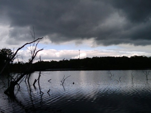 Stormy day on Lake Remembrance