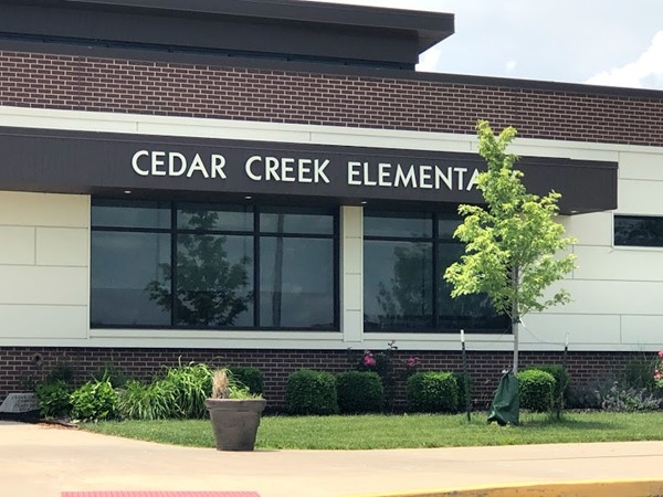Cedar Creek Elementary School is close by