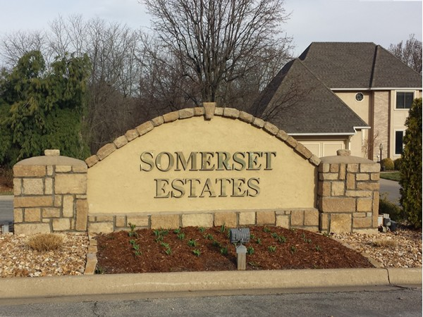 Somerset Estates is a beautiful subdivision close to Lake Jacomo