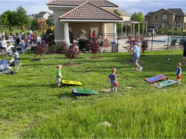 Canyon Creek Highlands neighborhood block party