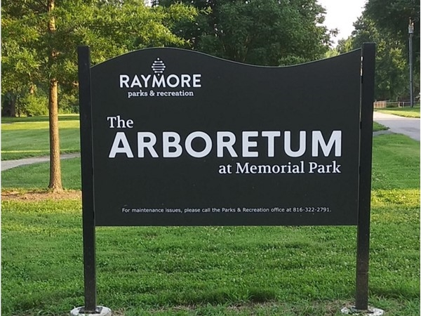 This is a lovely park in Raymore. It has pretty trails, scenery, and is good for dog walking