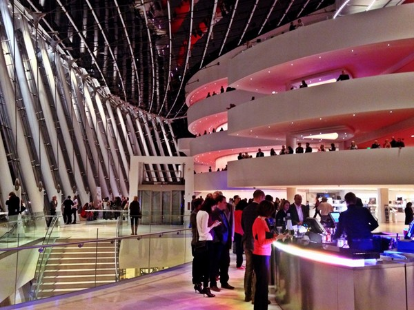 The Kauffman Center offers a state of the art facility for the performing arts in Kansas City