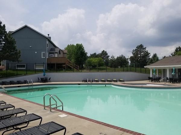 Swimming pool at Birchwood Hills