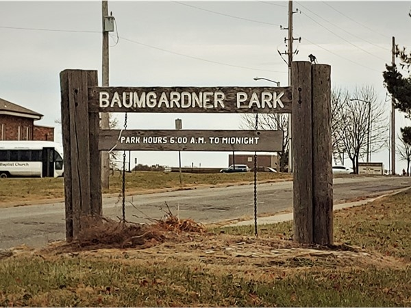 Baumgardner Park is a great place to bring your kids in Blue Springs