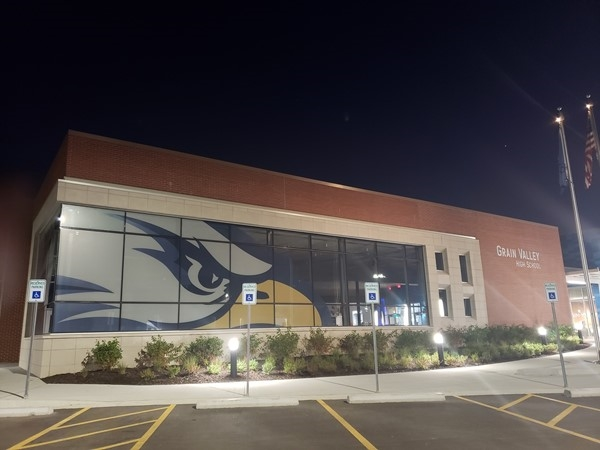Our new high school looks so great. Proud to be an Eagle