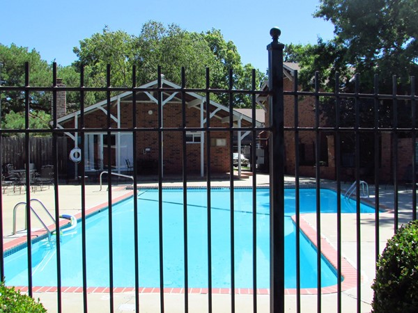 Chalet owners pool