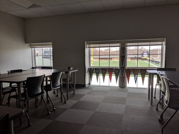 Classroom with a view at North Kansas City High School