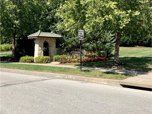 Entrance to The Village - Shoal Creek Valley