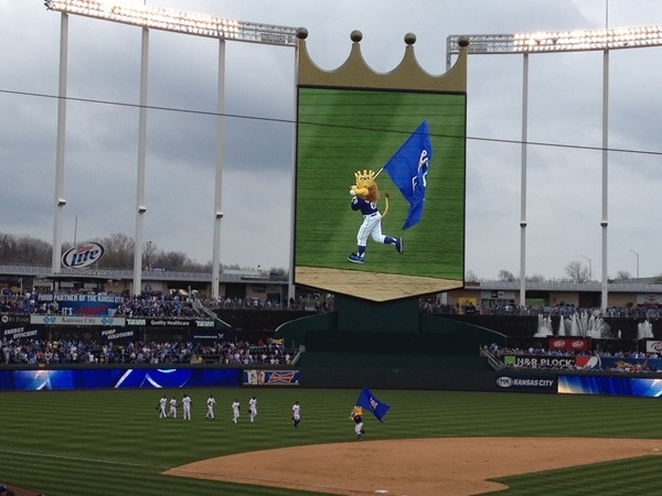 KC Royals and Slugger are ready for the 2021 Season