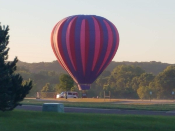 What a morning for a beautiful balloon ride
