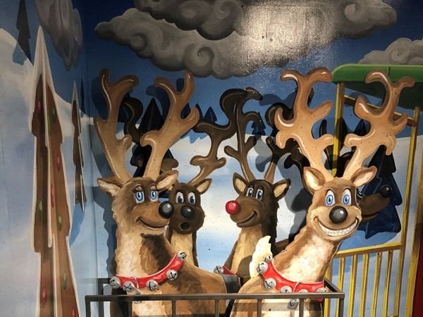 These Reindeer make my year each time I see them at Crown Center