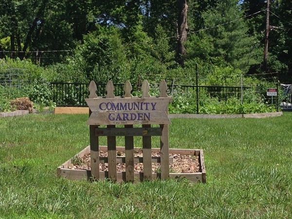 How cute! Community Garden within Roeland Park