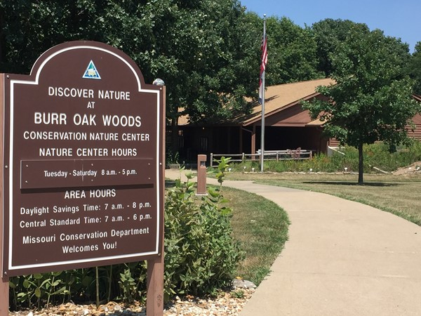 Burr Oak Nature Center has fun trails for the family