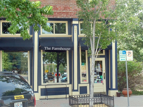 The Farmhouse is just one of the many unique shops you'll find in the River Market.
