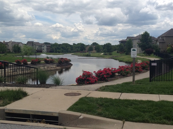 Forest Glen by the Lake in south Overland Park.