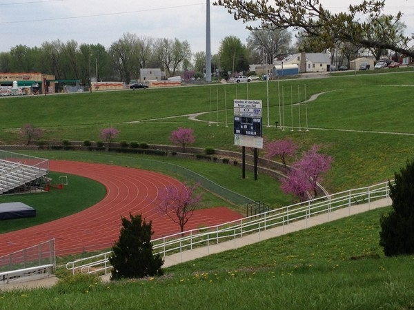 William Chrisman High School track