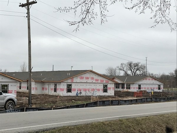 Senior Care Facility is under construction