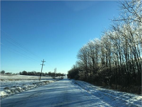 It's a winter wonderland in Northern Platte County