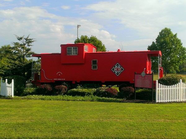 The Little Red Caboose at Smithville's Heritage Park