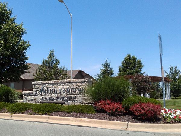 Arbor Landing Subdivision located in south Olathe.