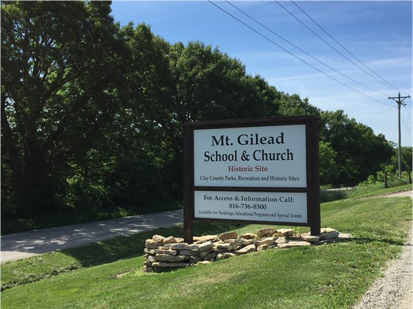 A bit of local history at Mt. Gilead School & Church
