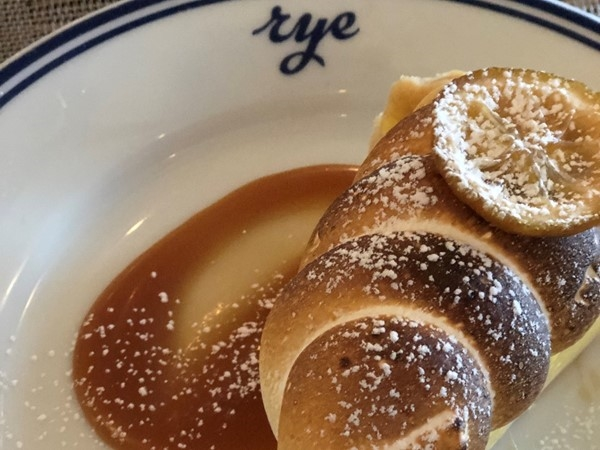 I love the Lemon Meringue Pie at Rye on the Plaza for Restaurant Week