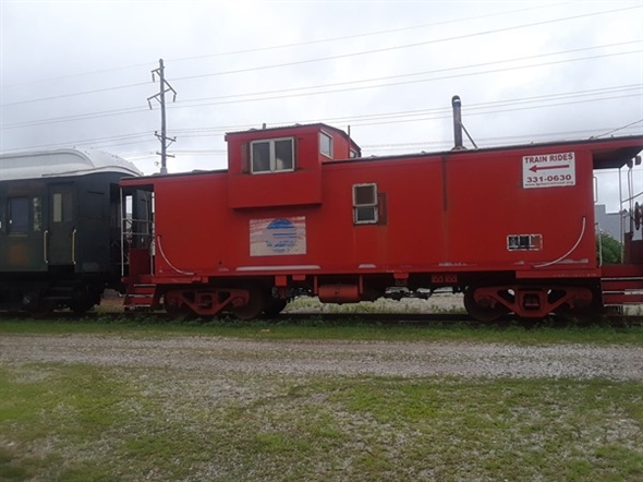 You don't see them anymore, but you can see them in Belton at the train park