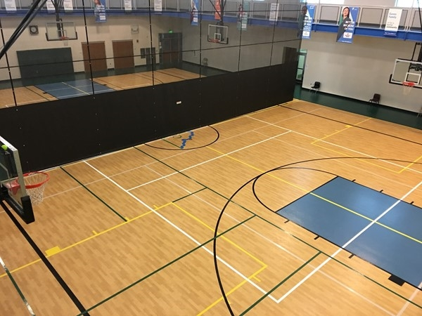 Platte County YMCA North gym