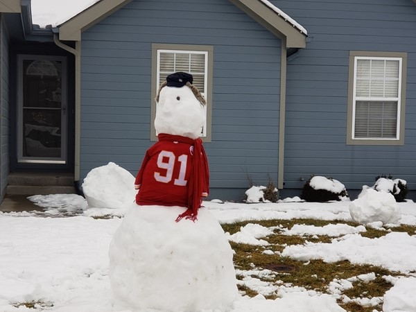 All of Grain Valley is rooting for the KC Chiefs