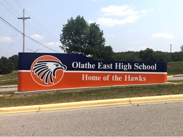 Olathe East High School is nearby Indian Creek North