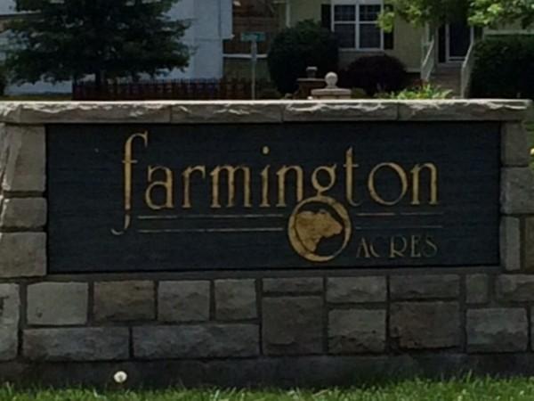 Farmington Acres Subdivision