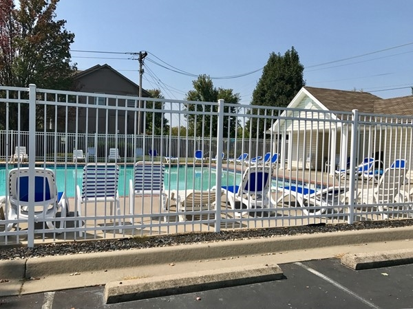 Community pool is perfect for those hot summer days