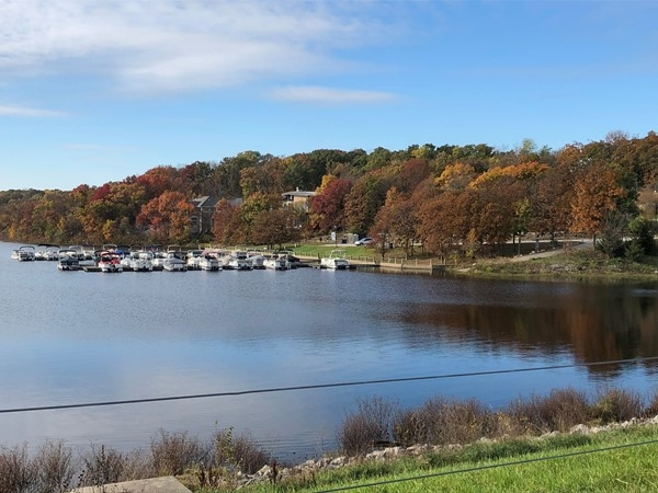 Fall at Loch Lloyd ... a great time take advantage of nature's amenities