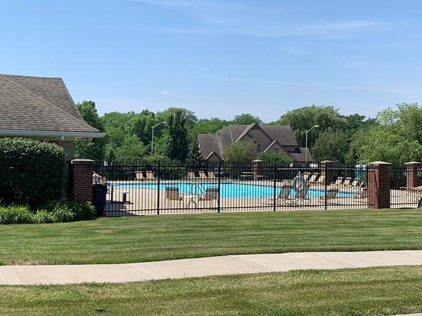 Pool in Montclair subdivision