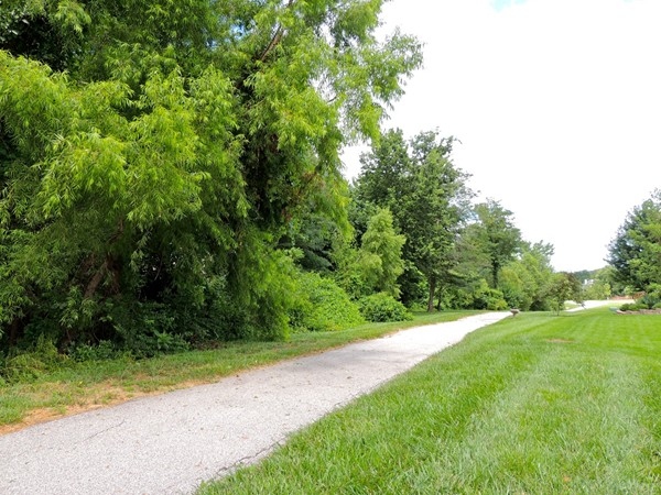 A nearby trail is perfect for family walks